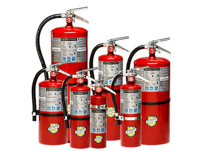 Air-Sea Safety Fire Extinguishers