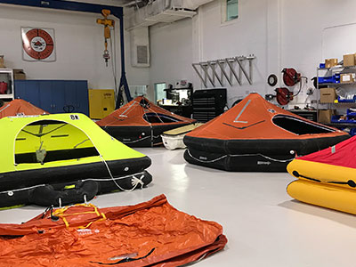Air-Sea Safety & Survival Life Raft Service